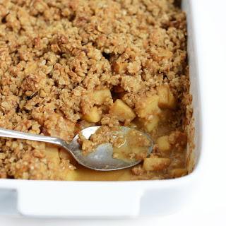 Gluten-Free Apple Plum Crisp