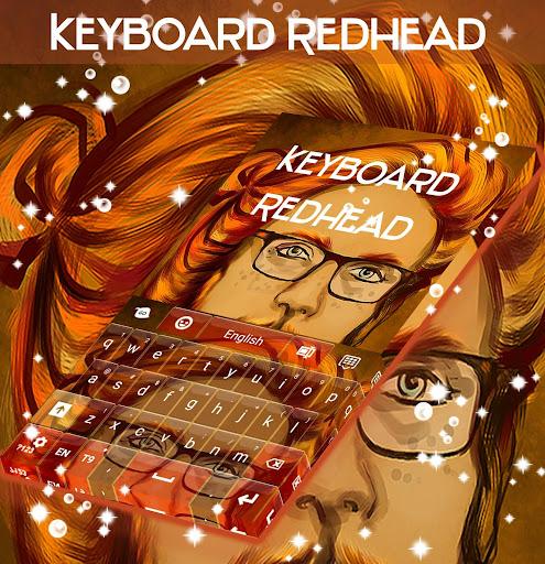 赤毛キーボード