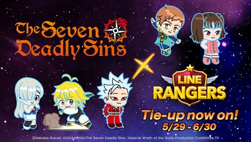 LINE Rangers - a tower defense RPG w/Brown & Cony! apklade screenshots 1