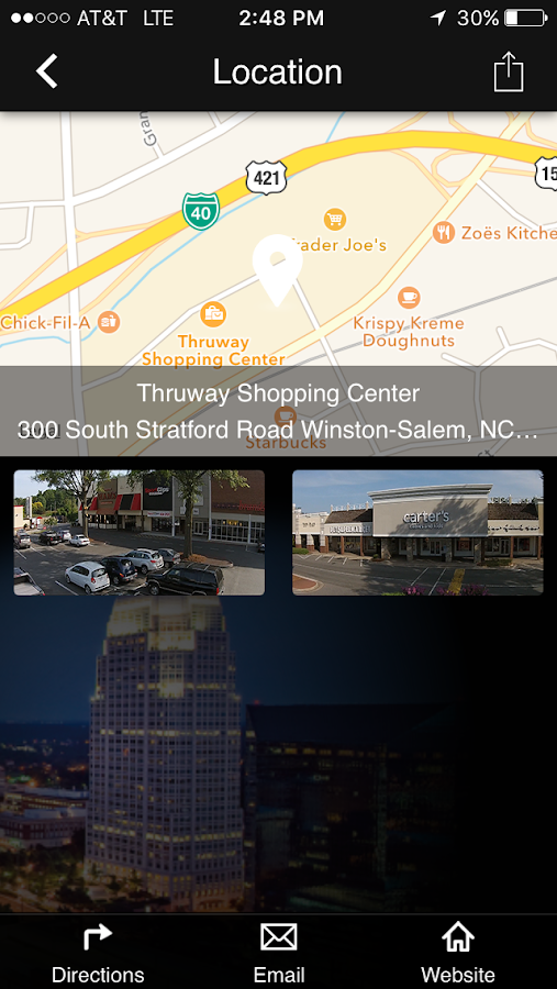 Thruway Shopping Center- screenshot
