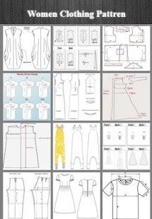 Dámské oblečení Pattren Design - náhled