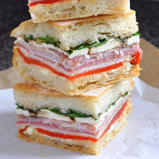 Overnight Italian Sandwiches