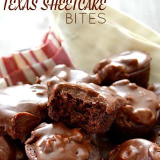 No-Bake Texas Sheetcake Bites