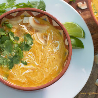 My Thai Coconut Curry Soup