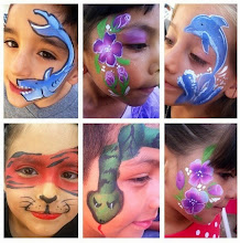 Photo: Bibi the Clown's face painting Riverside, Ca. Call to book Bibi today: 888-750-7024