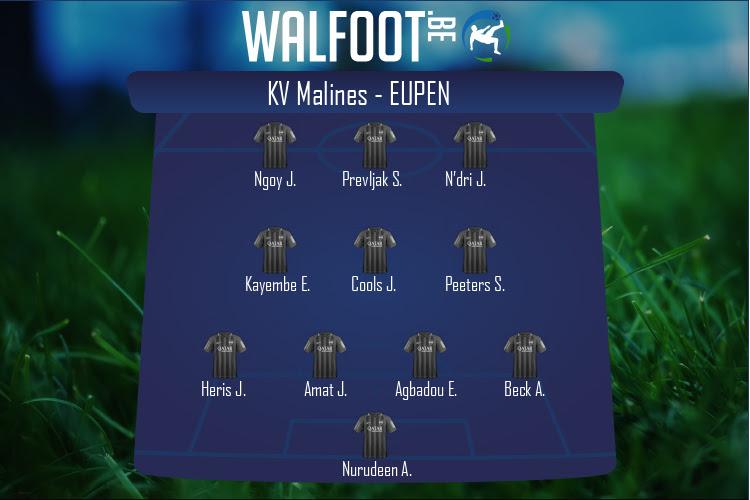 Eupen (KV Malines - Eupen)