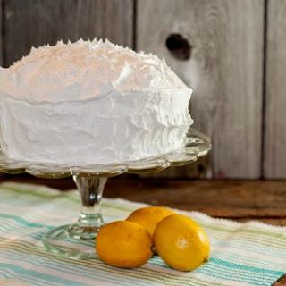Lemon Drop Pudding Cake.