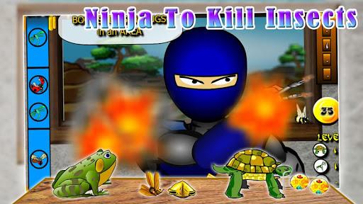 Ninja to kill insects