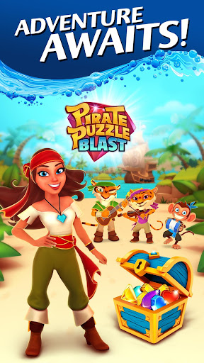 Pirate Puzzle Blast - Match 3 Adventure apkdebit screenshots 5