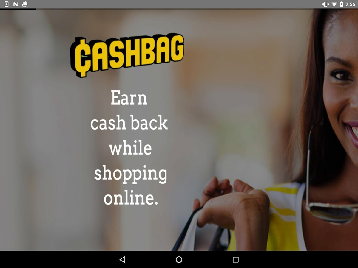 Cashbag. Earn cash as you shop- screenshot