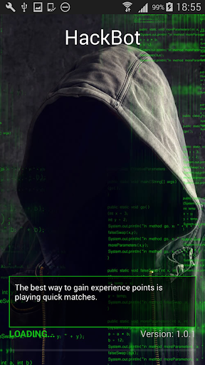 HackBot Hacking Game for Android apk 1