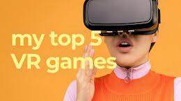 Top VR Games - YouTube Thumbnail item