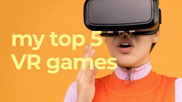 Top VR Games - YouTube Thumbnail template