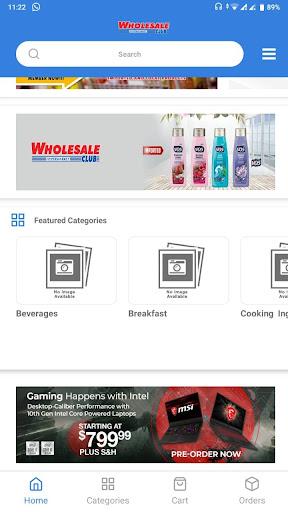 Wholesale Club screenshot 2