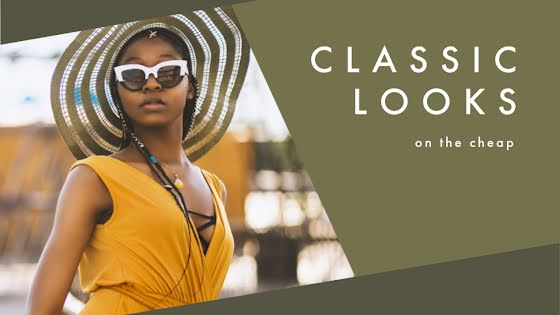 Classic Looks On the Cheap - YouTube Thumbnail Template