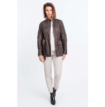 Jofama Sandra canvas jacket brown