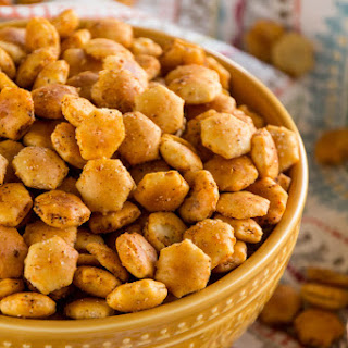 Spiced Oyster Crackers Recipes