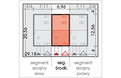 Alfa segment środkowy - Sytuacja