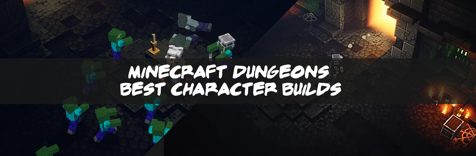 Minecraft Dungeons Best Character Builds