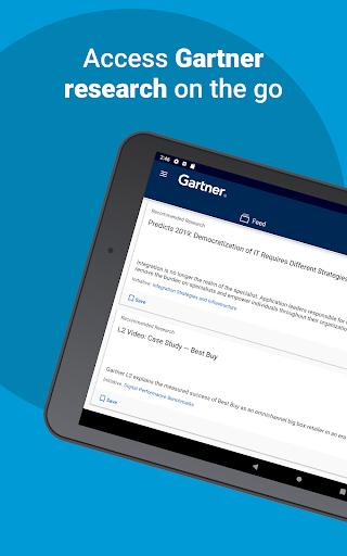 Screenshot for Gartner in United States Play Store