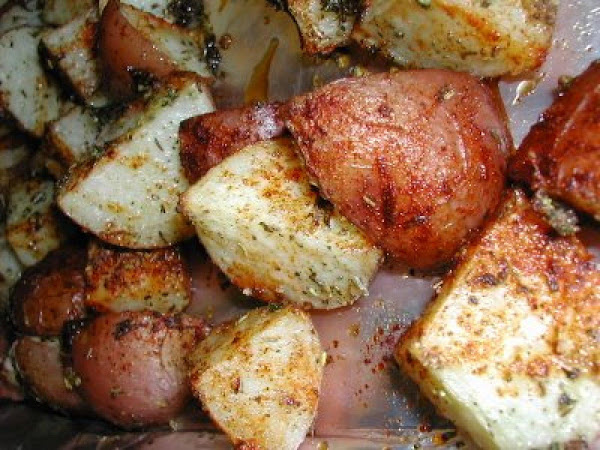 Oven Brown Potatoes Recipe