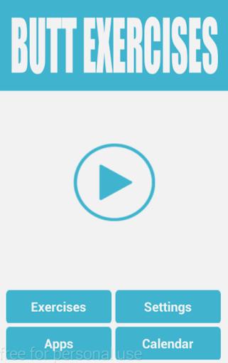 Daily Butt Exercises screenshot 1