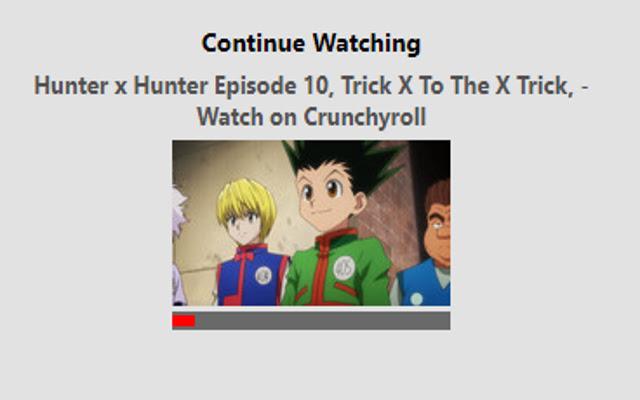 Crunchyroll Video Tracker