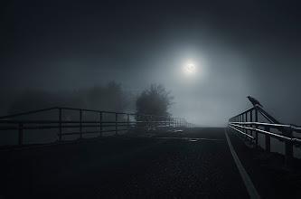 Photo: Arranging the albums.. :)  The Crow #nightphotography  #mikkolagerstedt  #night  #portfolio
