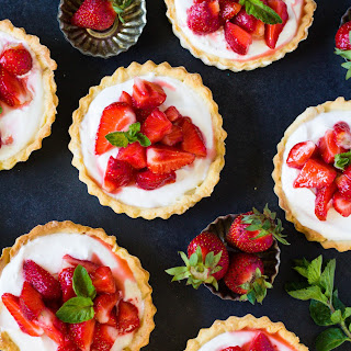 Strawberry Cream Cheese Tartlets Recipe