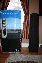 Photo: $350 F-3 Klipsch Floor Speakers (2) (Original Price: $868)