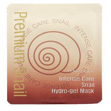 TonyMoly Intense Care Snail Hydro-gel Mask 強效修復肌膚再生蝸牛啫喱面膜