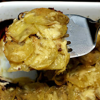 Awesomely Simple Potato Gratin.