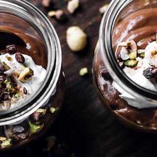 Dessert Dukkah + Raw Chocolate Avocado Pudding.