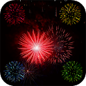 Fireworks Screen Prank icon