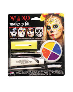 Day of the dead, sminkset