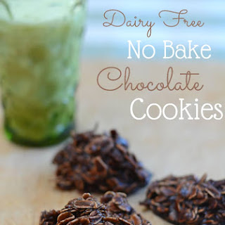 Dairy Free No Bake Cookies