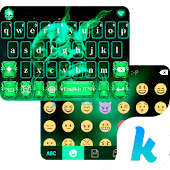 Hell Skull Kika Keyboard Theme