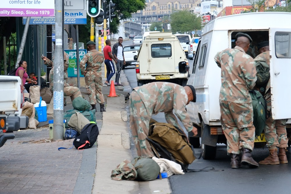 LOL | Five hilarious Twitter responses to SANDF deployment during lockdown - TimesLIVE