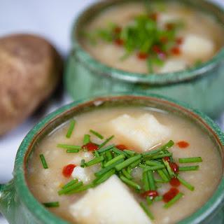 Vegan Potato and Leek Soup