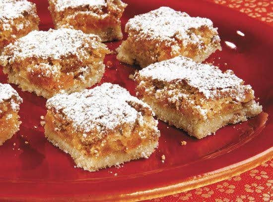 Apricot Bars Recipe