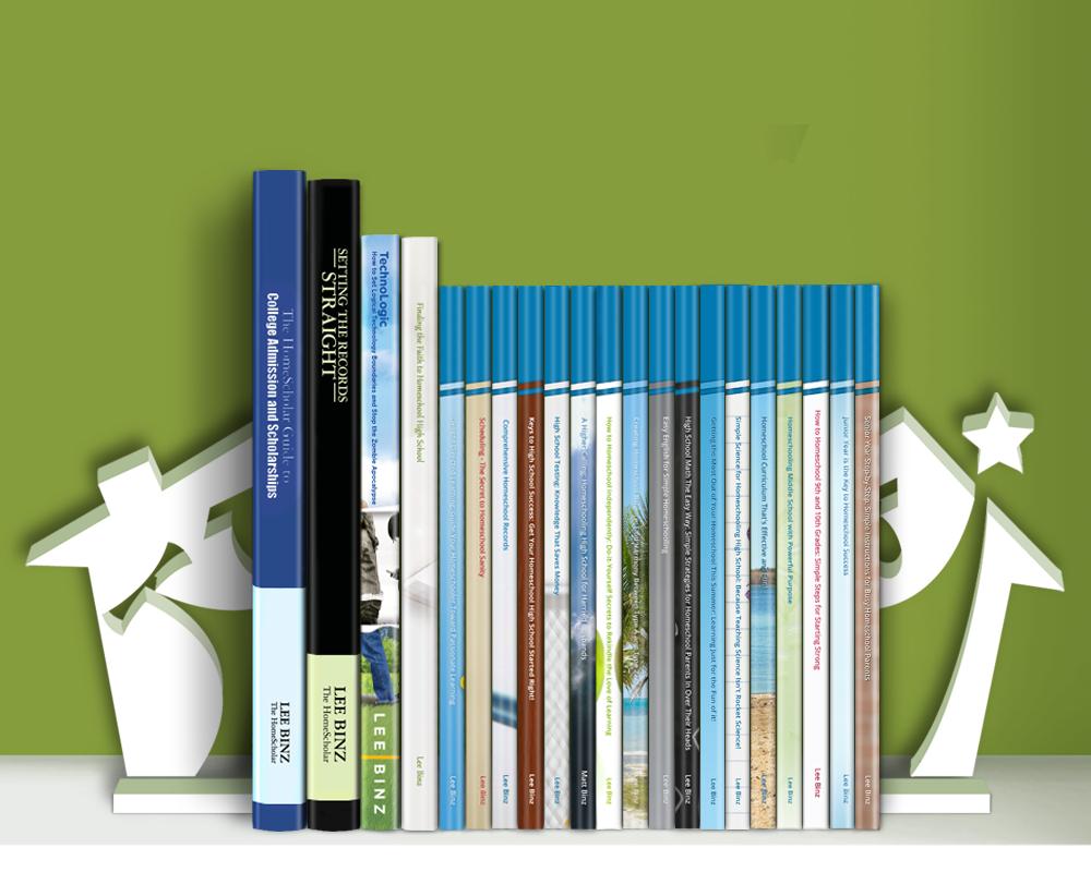 The HomeScholar Bookshelf
