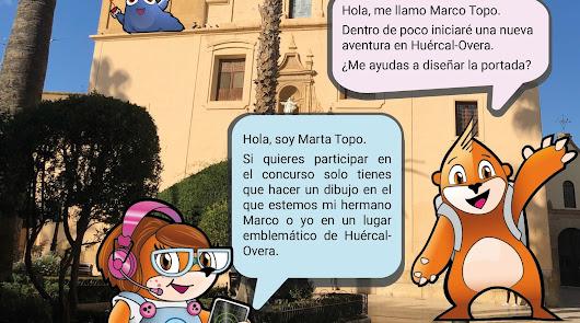 Huércal-Overa busca imagen para el nuevo juego de turismo familiar 'Marco Topo'