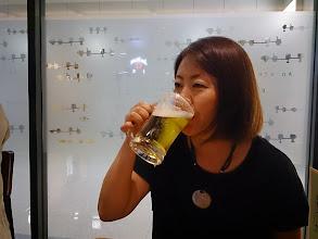 Photo: とりあえず、ビールでしょ。