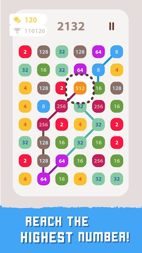 2248 Linked: Connect Dots & Pops - Number Blast screenshot 15