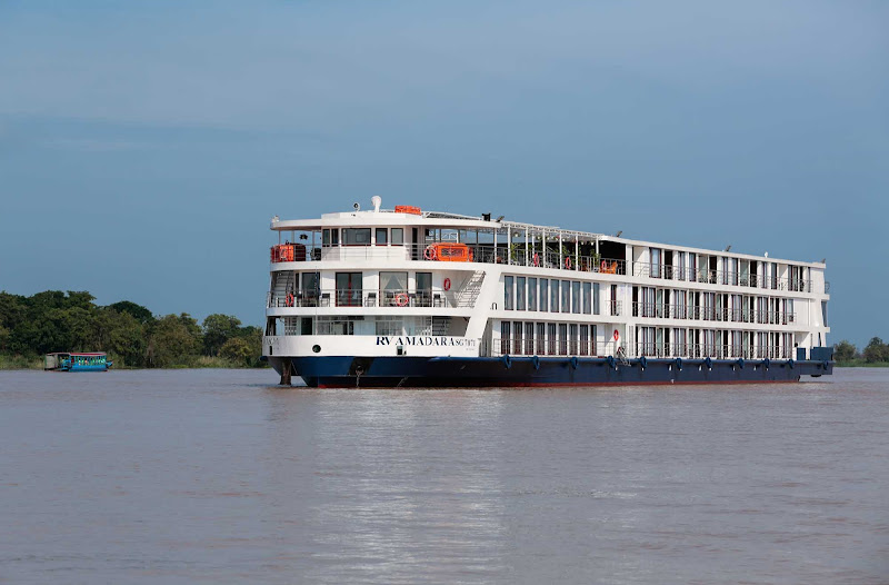 Launched in 2015, AmaWaterways' AmaDara takes up to 124 passengers on voyages up the Mekong River.