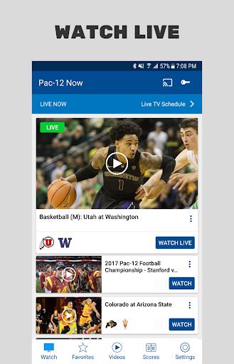 Pac-12 Now screenshot