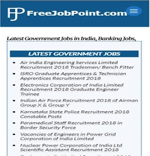 FreeJobPoint- screenshot thumbnail