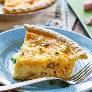Ham And Cheese Quiche With Half And Half Recipes