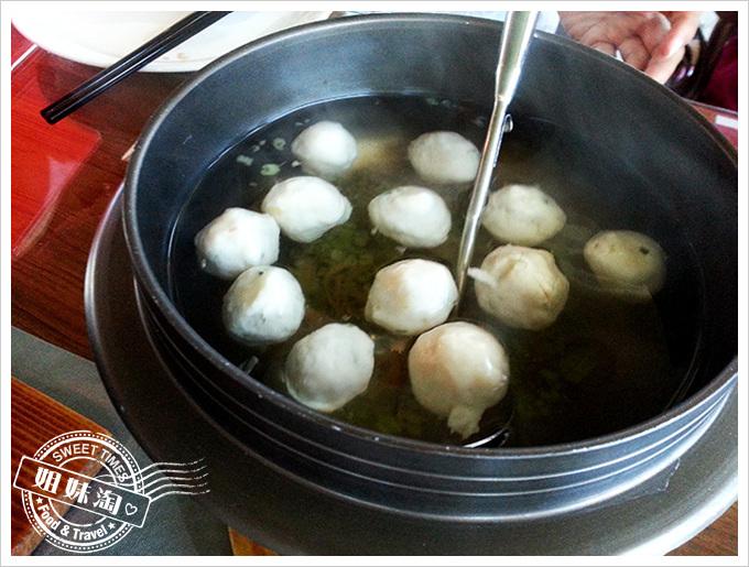 小紅食堂魚丸湯