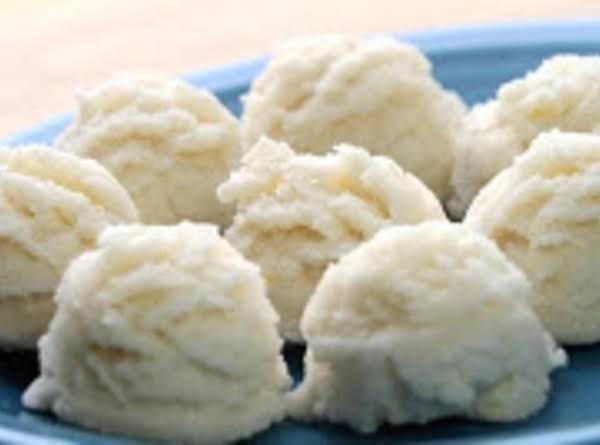 Quick Lemon Coconut Candy (no Bake) Recipe